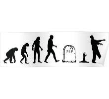Zombie Evolution Poster
