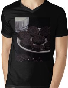 Milk and Cookies Mens V-Neck T-Shirt