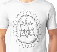 Mandala Flower Design Unisex T-Shirt