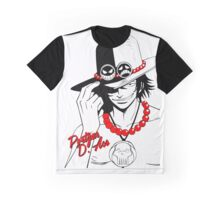 Portgas D Ace (Red) Graphic T-Shirt