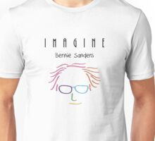 Imagine | Bernie Sanders Unisex T-Shirt