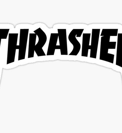 Thrasher x Yeezus Logo  Sticker