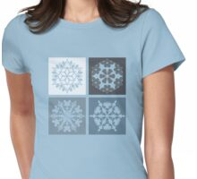 Happiest Snow on Earth Womens Fitted T-Shirt