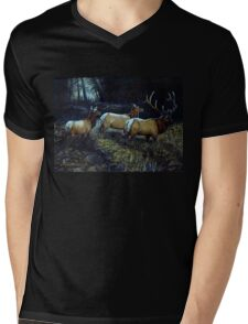 """Forest Royalty"" Mens V-Neck T-Shirt"