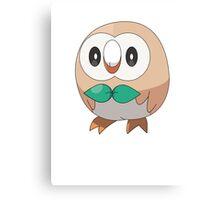 Sun/Moon Starter Owl! Canvas Print