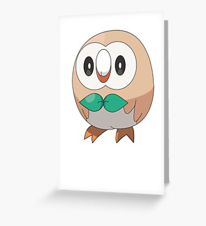 Sun/Moon Starter Owl! Greeting Card