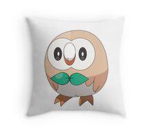 Sun/Moon Starter Owl! Throw Pillow