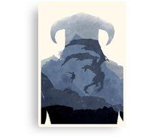 [Exclusive] Skyrim II (No Text) Canvas Print