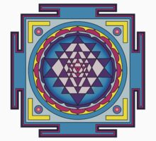 Sri Yantra Mandala Kids Clothes