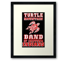 Turtle Mountain Band of Chippewa Indians Framed Print