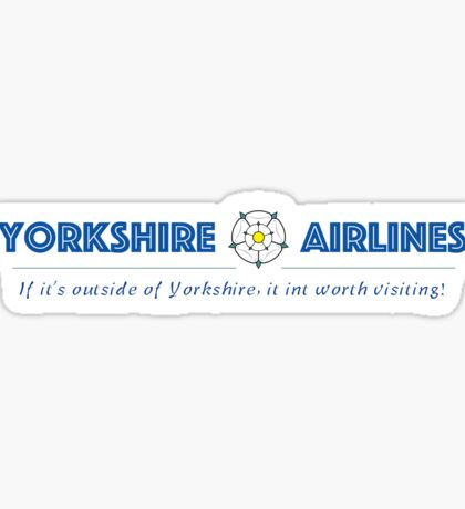 Yorkshire Airlines Sticker