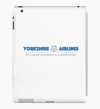 Yorkshire Airlines iPad Case/Skin
