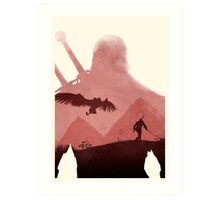 [Exclusive] The Witcher (No Text) Art Print