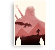 [Exclusive] The Witcher (No Text) Canvas Print