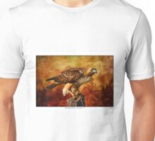 Red-tailed Hawk ~ Sustenance Unisex T-Shirt