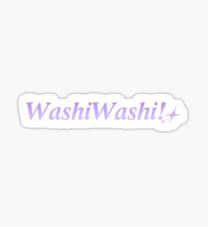 Washi Washi! Sticker