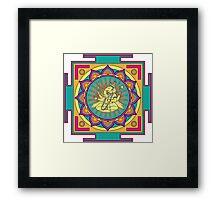 Ganesha Mandala Framed Print