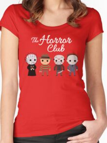 The Horror Club Women's Fitted Scoop T-Shirt