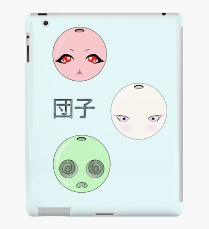 Cute dango balls! iPad Case/Skin