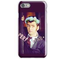 David Tennant Sassy Doctor Who iPhone Case/Skin