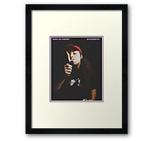 RUBY DA CHERRY - $UICIDEBOY$ Framed Print