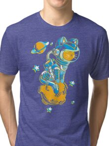 Space Cat Tri-blend T-Shirt