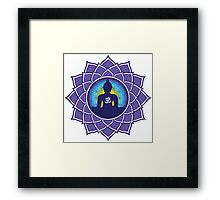 Om Meditation Framed Print