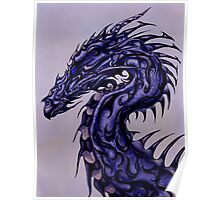 Tribal Dragon Poster
