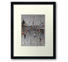 Ekka Side Show Alley  no4 Framed Print