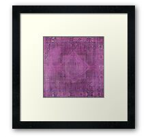 Unknown Egyptian Purple  Framed Print