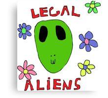 Legal Aliens Canvas Print