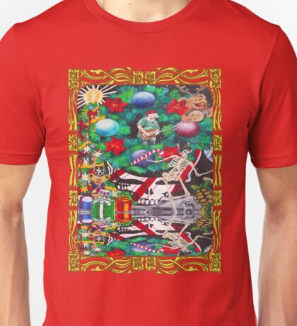 Christmas on the Moon Unisex T-Shirt