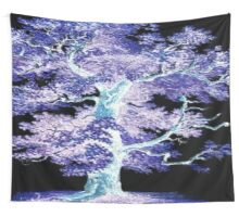 Tree in the Night Wall Tapestry