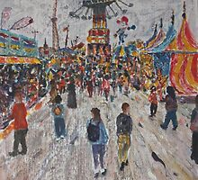 Ekka  Side Show Alley no5 by Howard Sparks