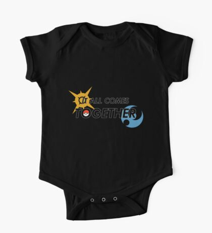 IT ALL COMES TOGETHER | Pokémon Sun and Moon One Piece - Short Sleeve