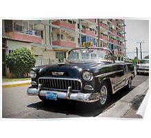 Crazy Taxi noir Poster