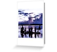 Liquid Lavendar Greeting Card