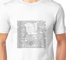 West Wing Quotes - CJ Cregg Unisex T-Shirt