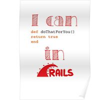 Do It in Rails Poster