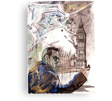 Sherlock: Jim Moriarty Canvas Print