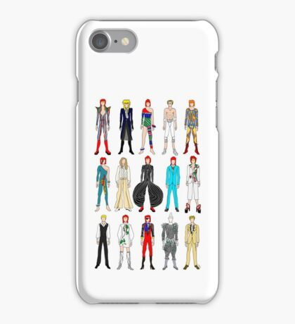 Outfits of Bowie Fashion iPhone Case/Skin