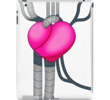 Robot Heart Steampunk Design Pink iPad Case/Skin