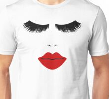 Makeup T shirt - Eyelashes Make Up Beauty T Shirt Unisex T-Shirt