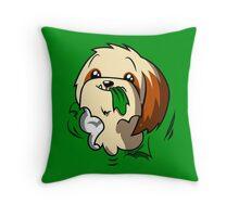 Fluffball Throw Pillow