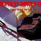 DEATH BY CHOCOLATE-CAFE FROOT-SEMAPHORE by JAMES LEVETT