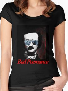 Bad Poemance - Lady Gaga meets Poe Women's Fitted Scoop T-Shirt