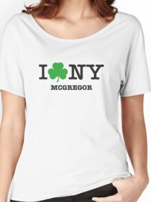 I love NY McGregor Women's Relaxed Fit T-Shirt