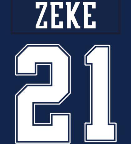Zeke Jersey Sticker