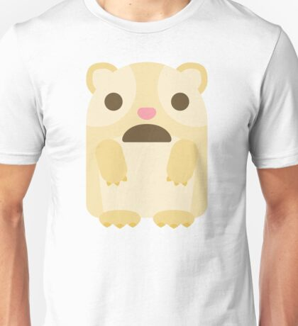 Emoji Guinea Pig Surprised Shocked Look Unisex T-Shirt