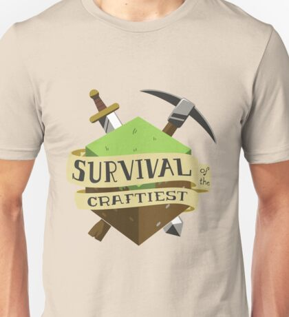Survival of the Craftiest Unisex T-Shirt
